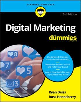 Paperback Digital Marketing for Dummies Book