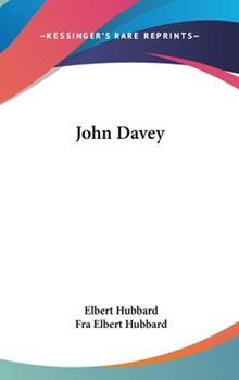 Hardcover John Davey Book