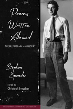 Poems Written Abroad: The Lilly Library Manuscript 0253041678 Book Cover
