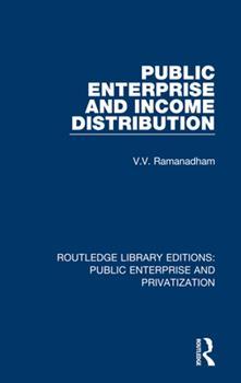 Paperback Public Enterprise and Income Distribution Book