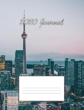 Paperback 2020 Journal/Planner (City-Themed Cover) Book