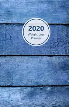 Paperback 2020 Weight Loss Planner : Meal and Exercise Trackers, Step and Calorie Counters. for Losing Weight, Getting Fit and Living Healthy. 8. 5 X 5. 5 (Half Letter). Portable. (Marble Look, Gold, Pink Design. Soft Matte Cover). Book