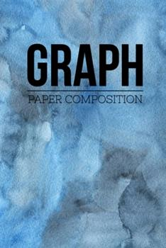 """Paperback Graph Paper Composition: Graph Paper 6"""" x 9"""" Quad Ruled 4x4, Grid Paper for school student, office, kids Notebooks Book"""