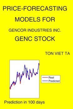 Paperback Price-Forecasting Models for Gencor Industries Inc. GENC Stock Book