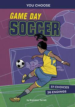 Paperback Game Day Soccer: An Interactive Sports Story Book