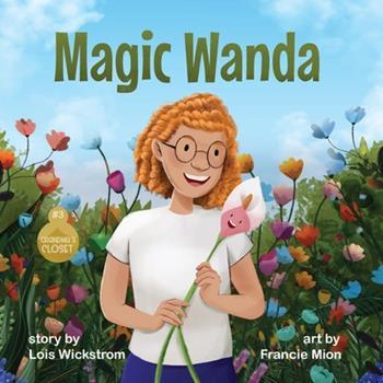 Paperback Magic Wanda [Large Print] Book