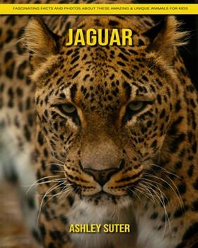 Paperback Jaguar: Fascinating Facts and Photos about These Amazing & Unique Animals for Kids [Large Print] Book
