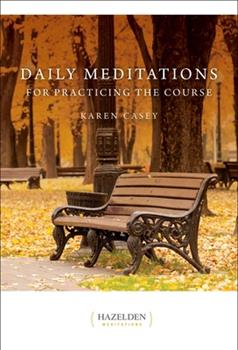 Daily Meditations for Practising the Course 0062552767 Book Cover