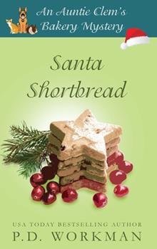 Hardcover Santa Shortbread Book