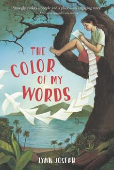 Paperback The Color of My Words Book