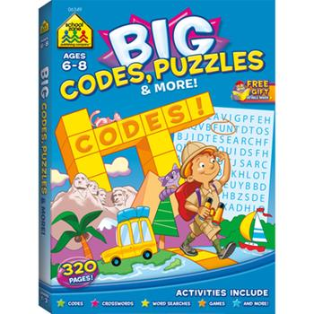 Big Codes, Puzzles & More - Book  of the BIG Workbooks