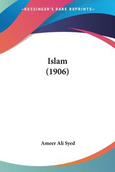 Paperback Islam (1906) Book