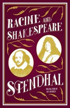 Racine et Shakespeare 0343693283 Book Cover