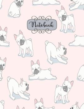 Paperback Notebook : Cute Puppy Playful Notebook for Kids and Lined Pages, Extra Large (8. 5 X 11) Inches, 110 Pages, White Paper Book