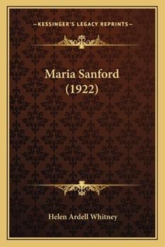 Paperback Maria Sanford Book