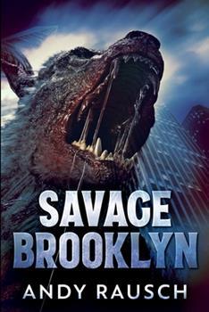 Paperback Savage Brooklyn: Large Print Edition Book