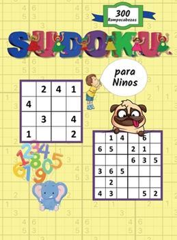 Hardcover Sudoku para niños: Sudoku fáciles y divertidos para niños y principiantes 4x4 y 6x6 con soluciones (Spanish Edition) [Spanish] Book