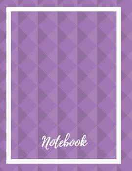 Paperback Composition Notebook : Lined Notebook Journal Paperback - Purple Diamonds - 120 Ruled Pages - Large (8. 5 X 11 Inches) - Back to School - Kids - Teens - Adult - Authors - Workbook - Diary - Planner - Composition - Songwriting Book