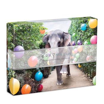 Video Game Gray Malin Party at the Parker 2-Sided 500 Piece Puzzle Book