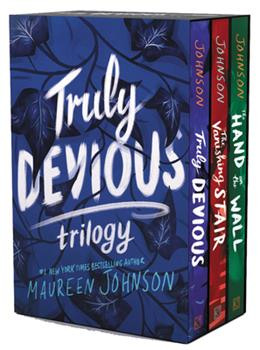 Truly Devious 3-Book Box Set: Truly Devious, Vanishing Stair, and Hand on the Wall 0063023156 Book Cover