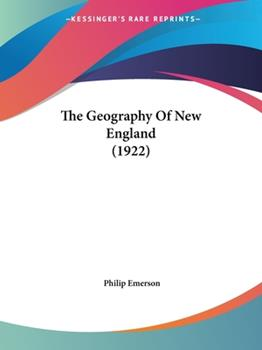 Paperback The Geography of New England Book