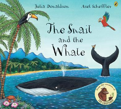 Paperback The Snail and the Whale Book