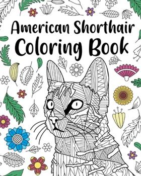 Paperback American Shorthair Coloring Book
