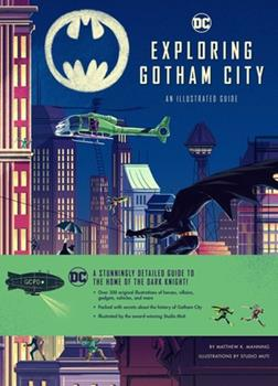 Hardcover Exploring Gotham City Book
