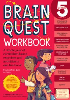 Paperback Brain Quest Workbook: 5th Grade Book