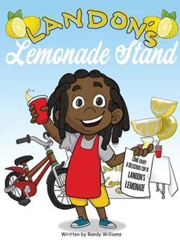 Hardcover Landon's Lemonade Stand Book