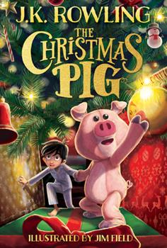 Hardcover The Christmas Pig Book