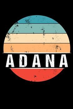 Paperback Adana : 100 Pages 6 'x 9' -Dot Graph Paper Journal Manuscript - Planner - Scratchbook - Diary Book