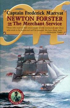 Newton Forster Or The Merchant Service 0935526447 Book Cover