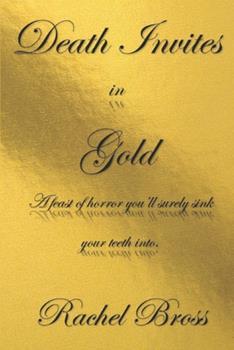 Paperback Death Invites in Gold Book