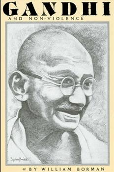 Paperback Gandhi and Non-Violence Book