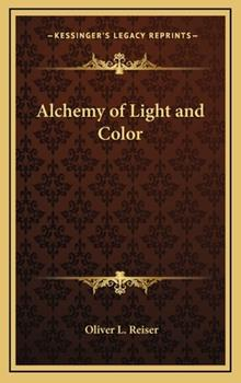 Hardcover Alchemy of Light and Color Book