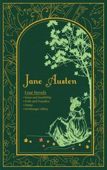 Leather Bound Jane Austen: Four Novels Book