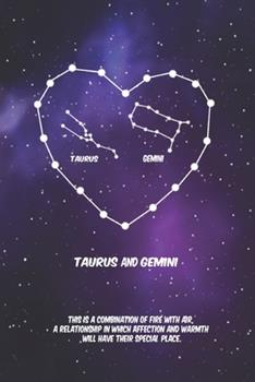 Paperback 2020 The Astrology of Love between Taurus and Gemini: horoscope, love, relationship and compatibility: Lined Notebook / journal gift, 110 pages, 6x9 i Book