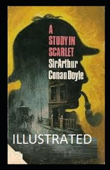 Paperback A Study in Scarlet Illustrated Book