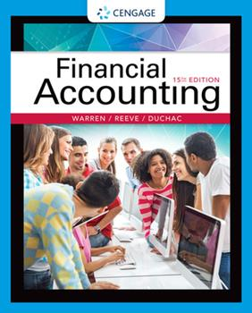 Financial Accounting 0538829451 Book Cover