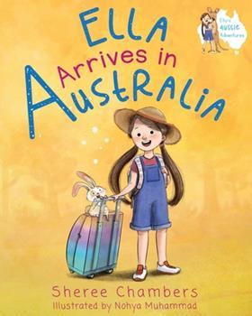 Paperback Ella Arrives in Australia Book