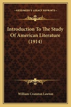 Paperback Introduction to the Study of American Literature Book