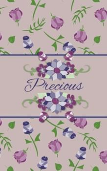Paperback Precious : Small Personalized Journal for Women and Girls Book