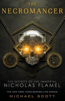The Necromancer: The Secrets of The Immortal Nicholas Flamel 0385735316 Book Cover