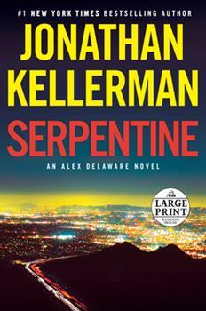 Paperback Serpentine: An Alex Delaware Novel [Large Print] Book