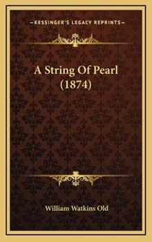Hardcover A String of Pearl Book