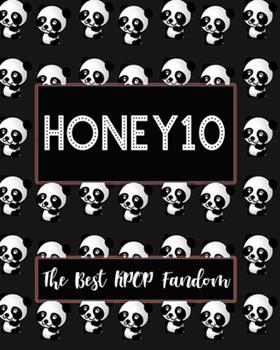 Paperback HONEY10 the Best KPOP Fandom : Best KPOP Gift Fans Cute Panda Monthly Planner 8 X10 Book 110 Pages Book