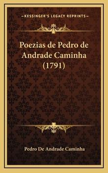 Hardcover Poezias de Pedro de Andrade Caminha Book