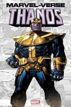 Paperback Marvel-Verse: Thanos Book
