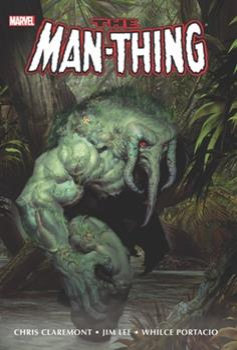 Hardcover Man-Thing Omnibus Book